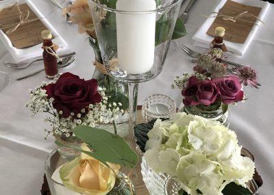 Tischdekoration Hochzeit Füssen Allgäu Tavola 4