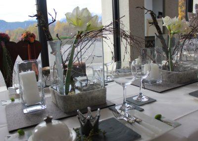 Hochzeitsdekoration Füssen Allgäu Tavola 24